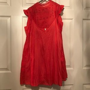 9e01b3f357951 Free People Dresses - Free People Nobody Like You Coral Kiss XS NWT $148